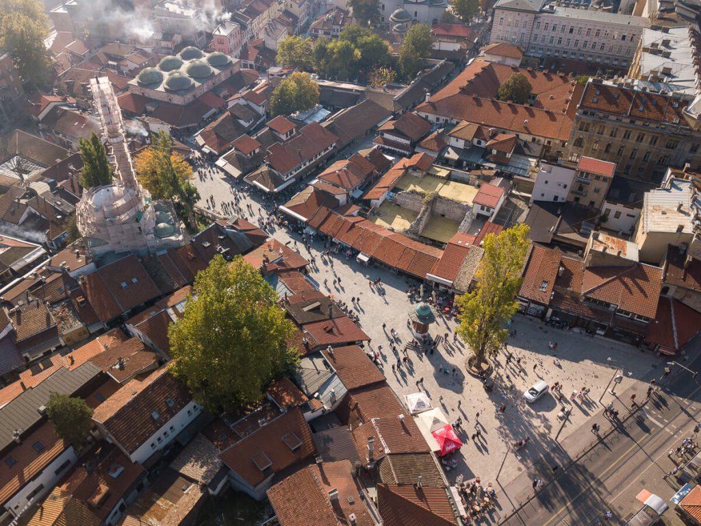 Sarajevo - Sebilj en Baščaršija