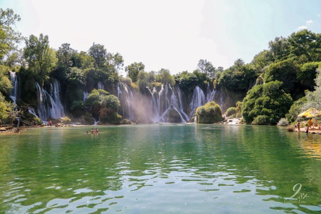 Bosnie - Kravica watervallen
