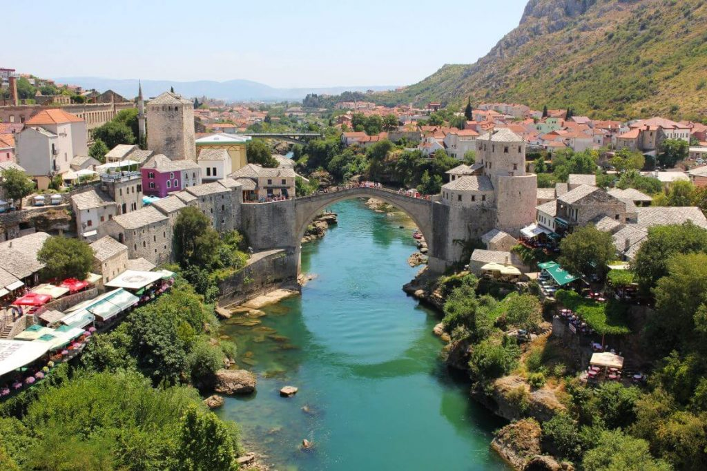 Foto: Stari Most door Esther van Go Live Go Travel