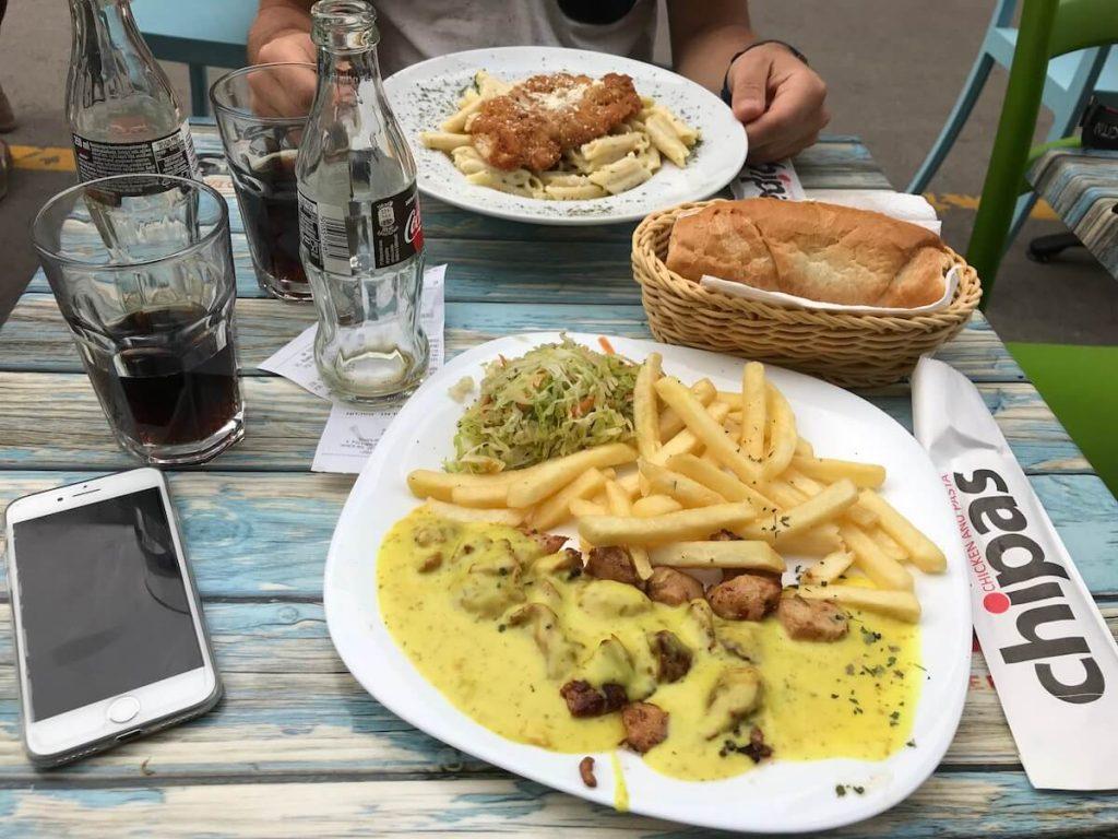 Chipas Sarajevo kip curry