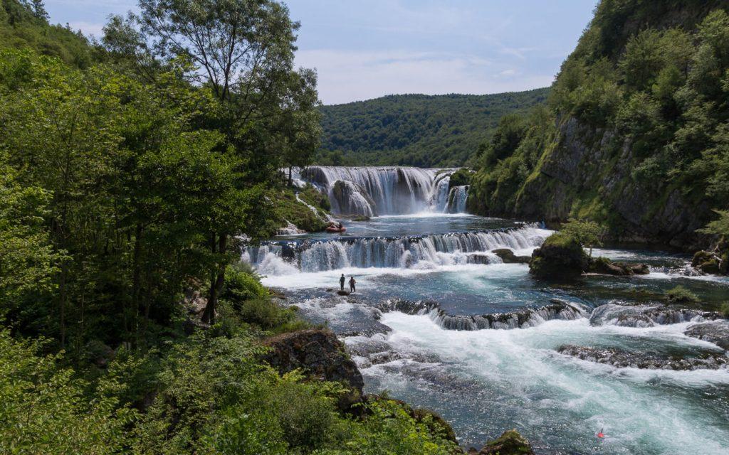 De beeldschone Strbacki Buk waterval