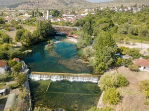 Zwemplek Jaz bij Struge - Capljina