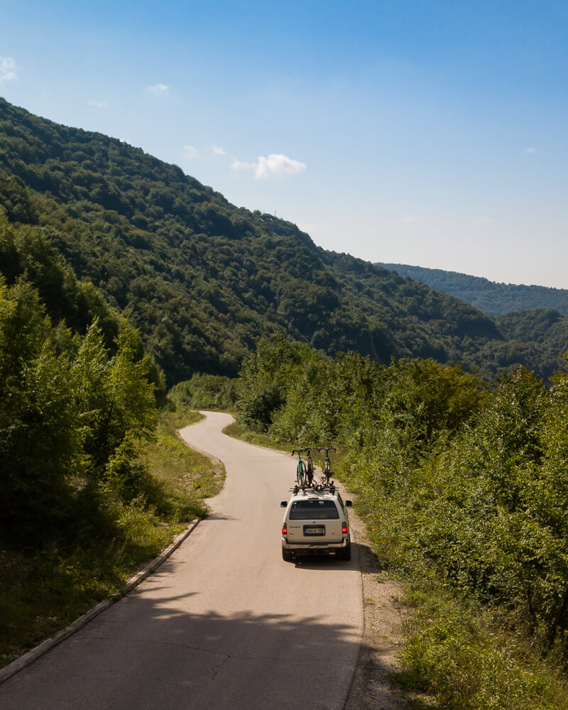 Fietsen in de omgeving van Vares - Bosnië en Herzegovina